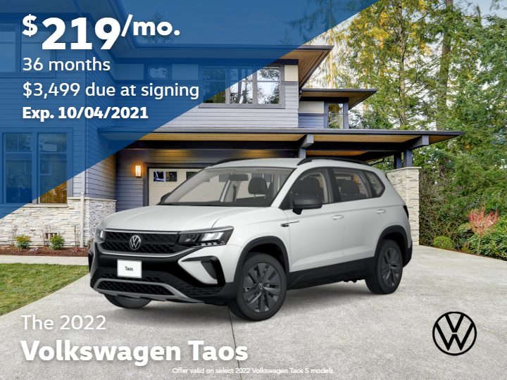 New 2022 Volkswagen Taos S with Automatic Transmission