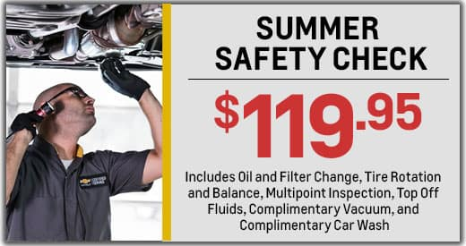 SUMMER SAFETY CHECK-UP