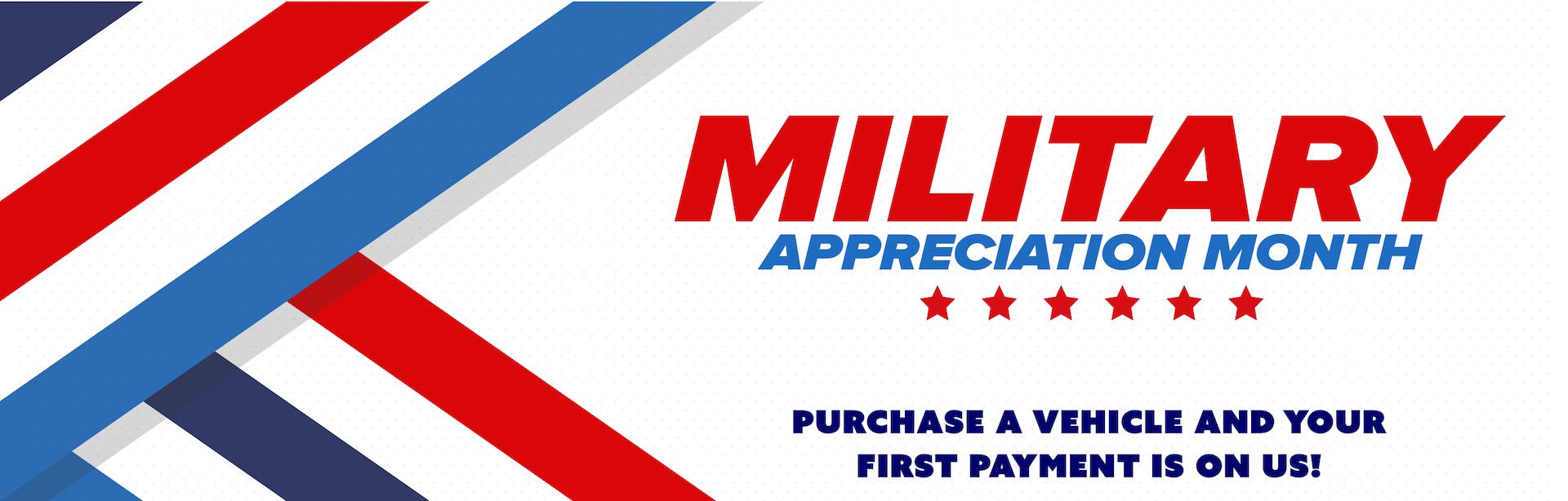 Military Appreciation Web banner