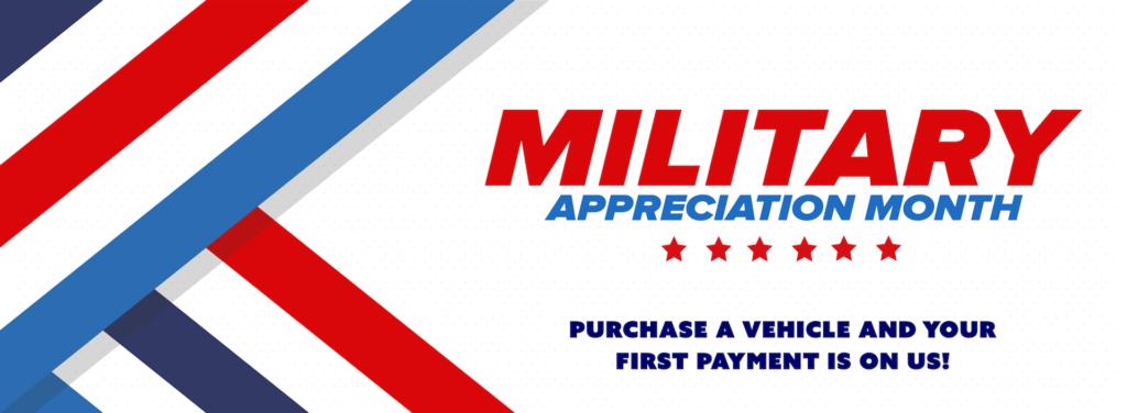 Military Appreciation - Website Banner