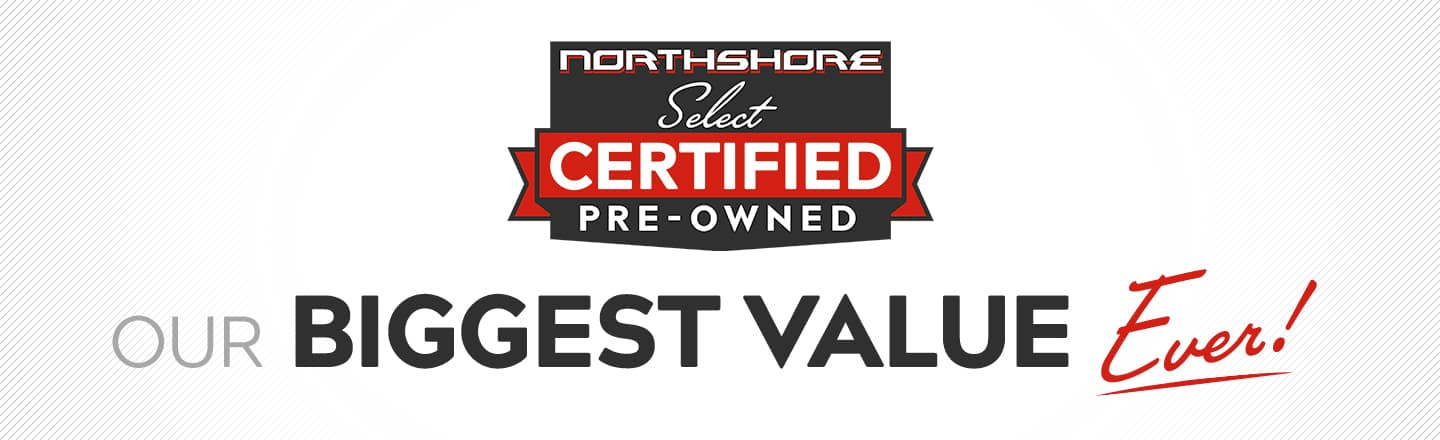Select Certified Pre-Owned at Northshore Toyota