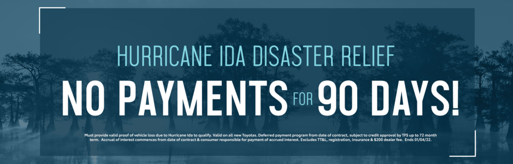 Hurricane Ida Disaster Relief