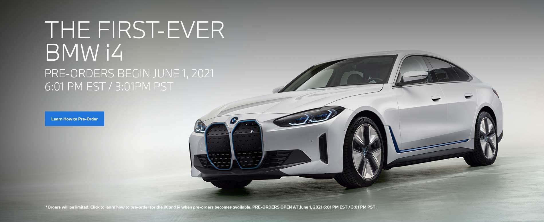 Pre-Order BMW i4