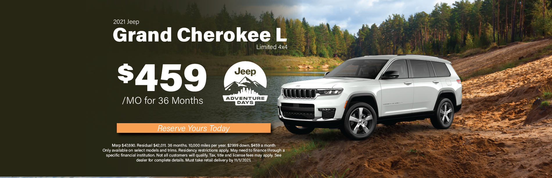 Grand Cherokee L Limited – Peterson Oct 2021