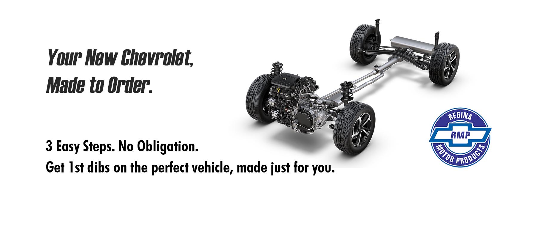 Custom Order your New Chevrolet