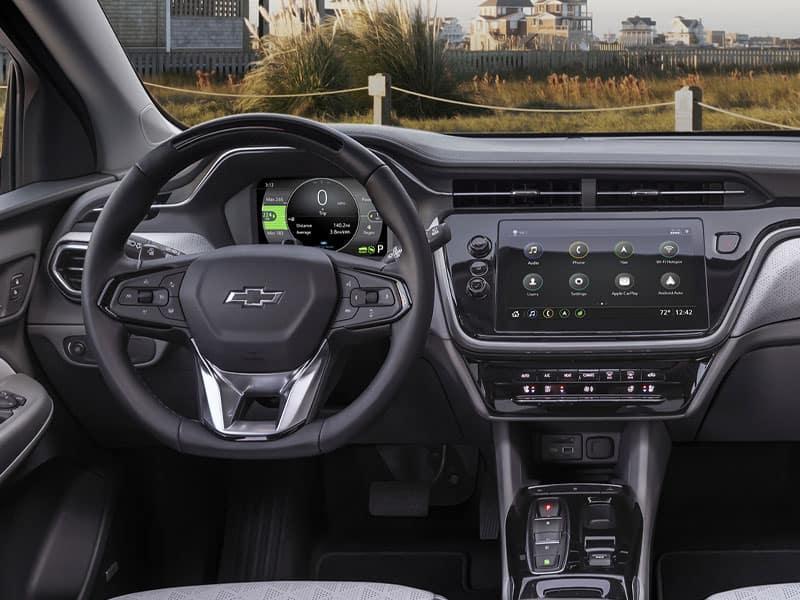 2022 Chevrolet Bolt EUV interior comfort and technology