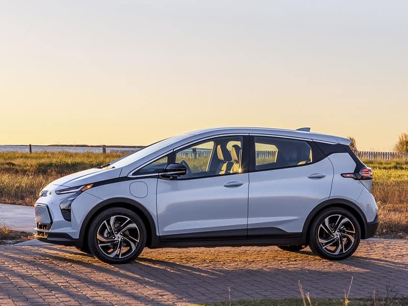 2022 Chevrolet Bolt EV models and trim levels