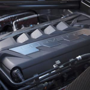 2022 Chevrolet Corvette C8 6.2L V8 Engine