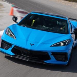 2022 Chevrolet Corvette in stunning Rapid Blue
