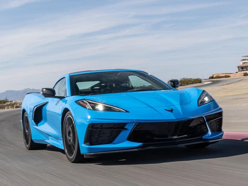 2022 Chevrolet Corvette powertrain and performance