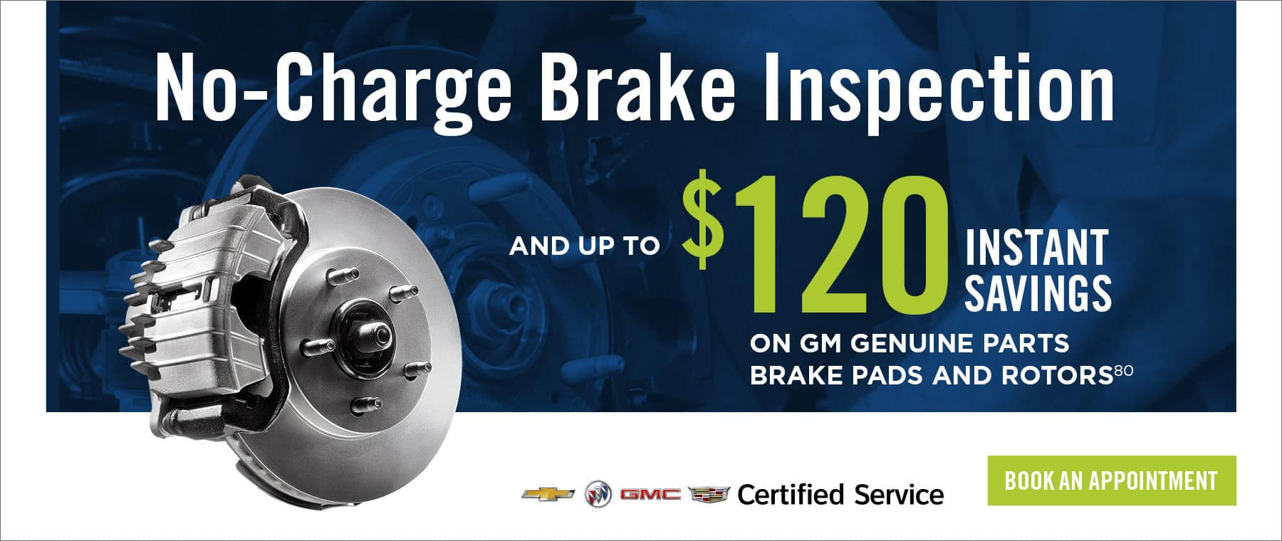 No Charge Brake Inspection at Regina Motor Products Service Department