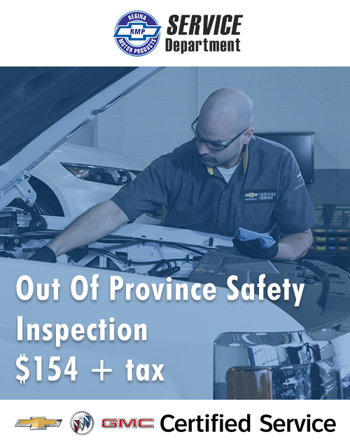 Out of Province Safety Inspections at RMP