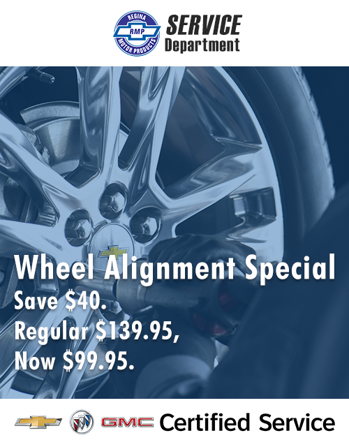 Save $40 on your Wheel Alignment at RMP Service