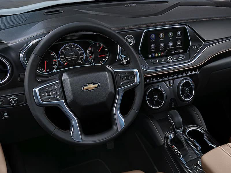 2022 Chevrolet Blazer interior and technology