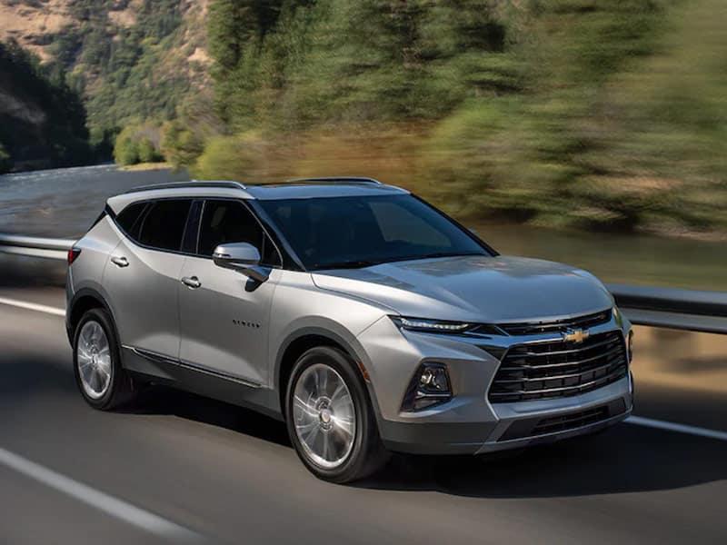2022 Chevrolet Blazer powertrain and performance