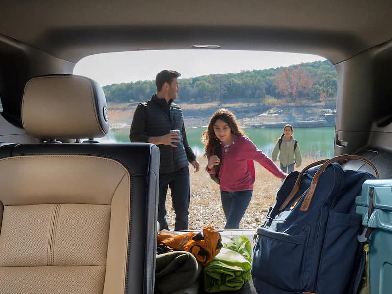 2022 Chevrolet Equinox cargo space and interior comfort