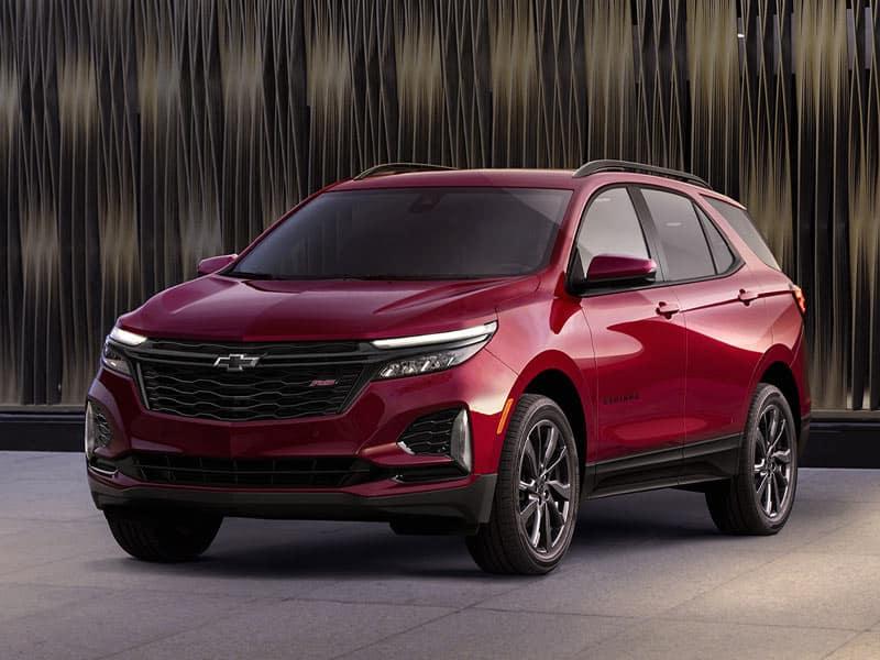 2022 Chevrolet Equinox trim levels and model lineup