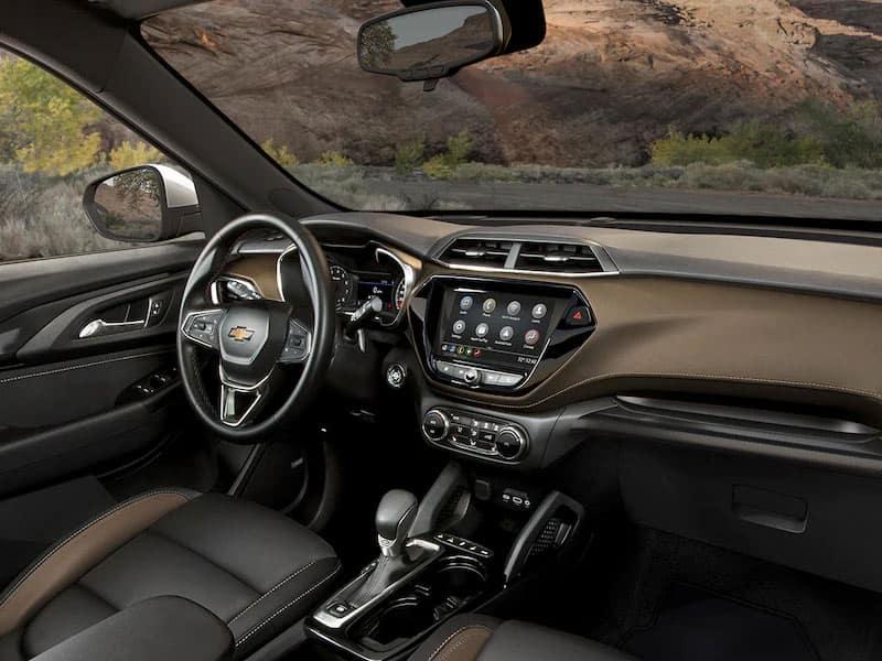 2022 Chevrolet Trailblazer interior comfort and technology