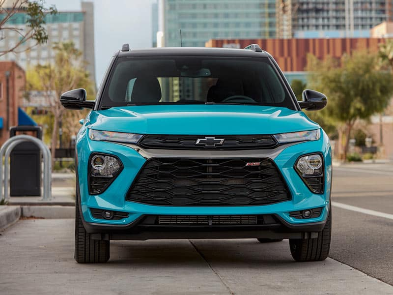 2022 Chevrolet Trailblazer model lineup and trim levels