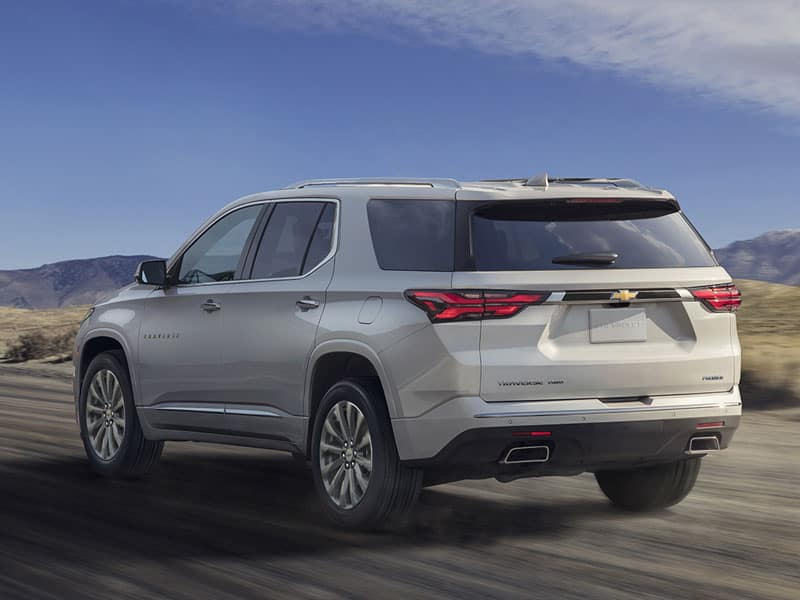 2022 Chevrolet Traverse powertrain and performance
