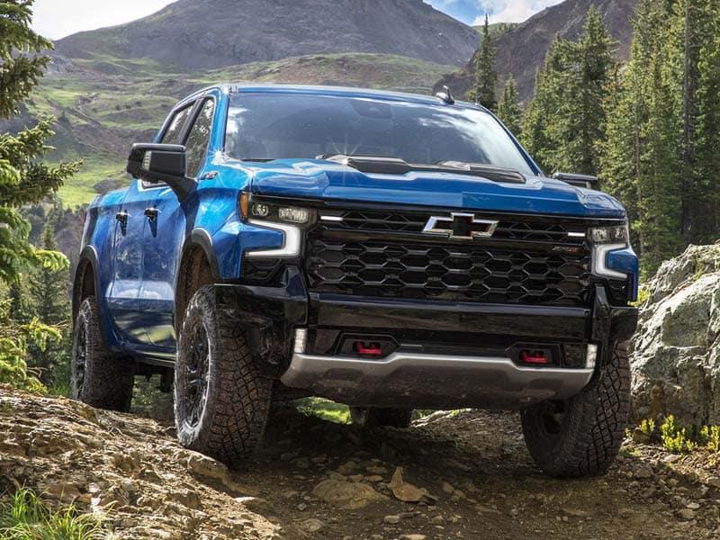New 2022 Chevrolet Silverado 1500 trim levels and model lineup
