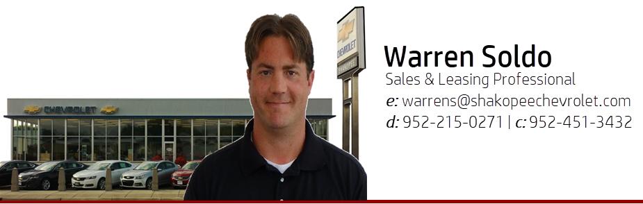 Warren Soldo | Shakopee Chevrolet