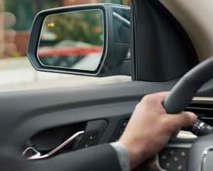 lane change alert with side blind zone alert