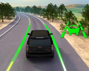 lane keep assist with lane departure warning