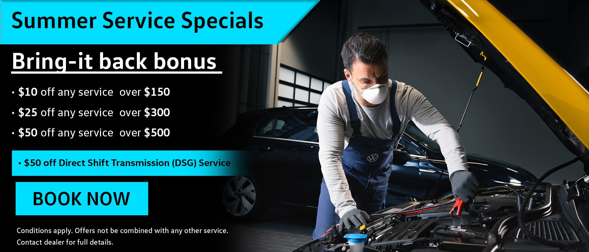 service summer sale