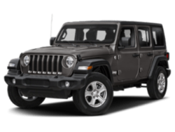 2020 Jeep Wrangler Unlimited angled