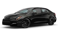 2022 Toyota Corolla SE Nightshade Edition.