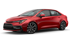 2022 Toyota Corolla SE.