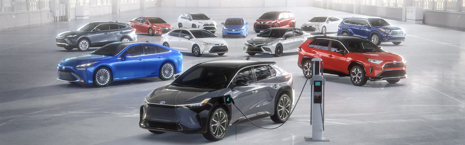 Learn more about all the latest Toyota Hybrid, Plug-In Hybrid, and Fuel Cell Electric models.