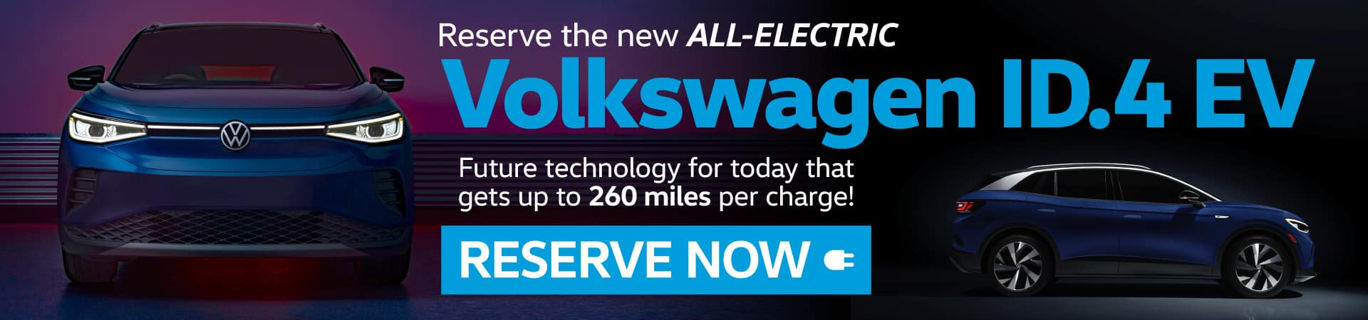 Reserve the new Volkswagen ID.4 EV Today