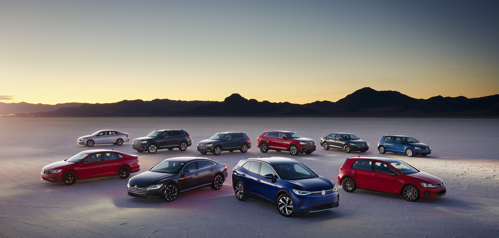 2021 VW Model Lineup
